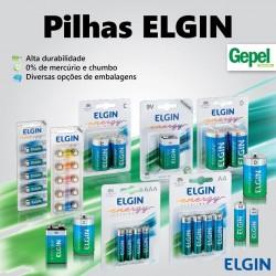 As Pilhas Elgin são as melhores em durabilidade