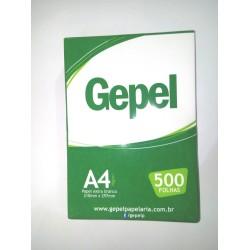 PAPEL GEPEL A4 COM 500 FOLHAS