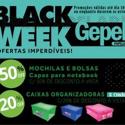 BLACK WEEK GEPEL PAPELARIA