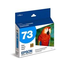 Cartucho de Tinta Epson 73N Ciano 5ml Nacional (T073220)