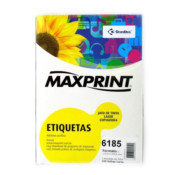 ETIQUETA MAXPRINT 6185