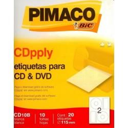 ETIQUETA PRA CD E DVD PIMACO